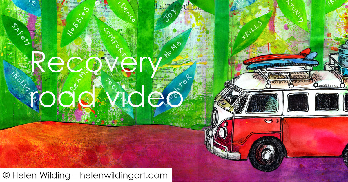 Recovery Road – adding colour to our lives