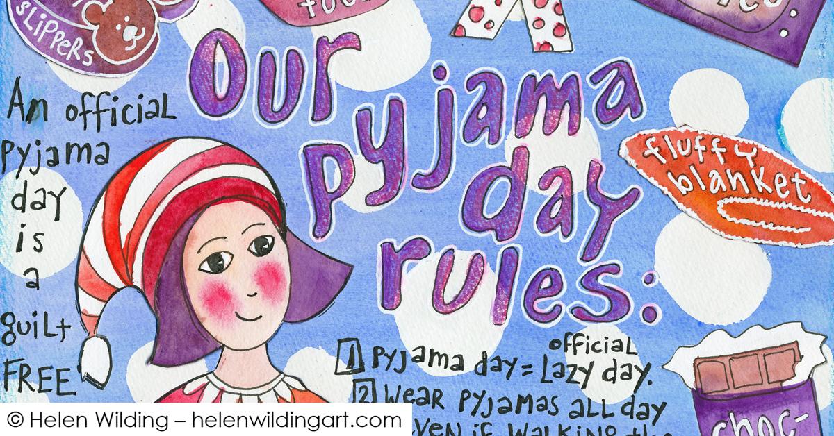 Pyjama Day Rules