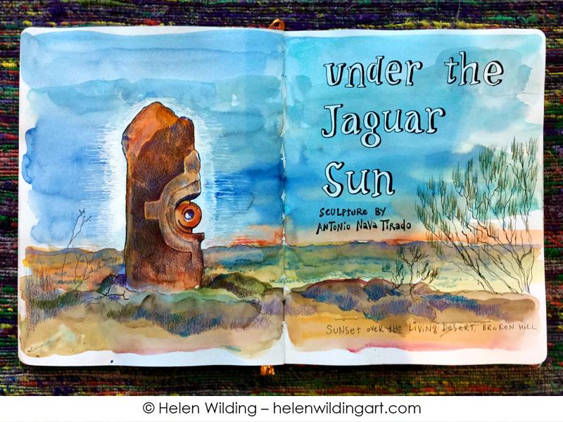 2015w-Broken-Hill-Living Desert Helen-Wilding