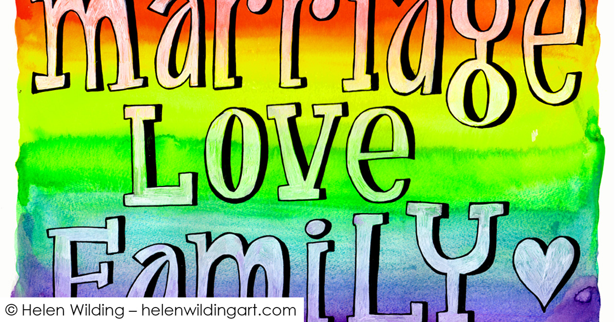 Love, marriage and rainbows