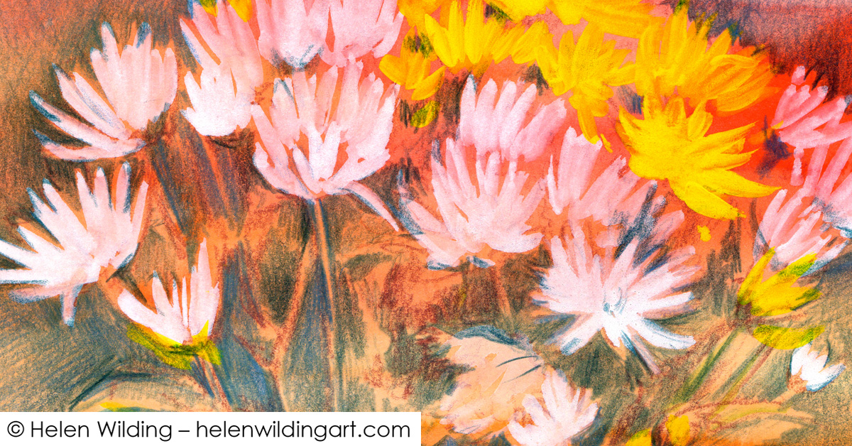 Leonie's chrysanthemums