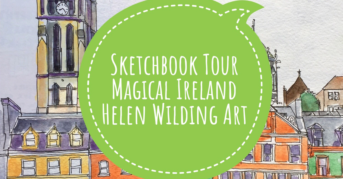 Sketchbook tour – 2 weeks in Ireland