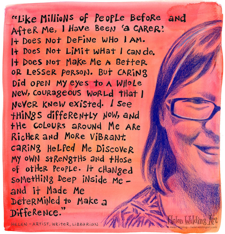 WEB red carer portrait helen wilding 2014
